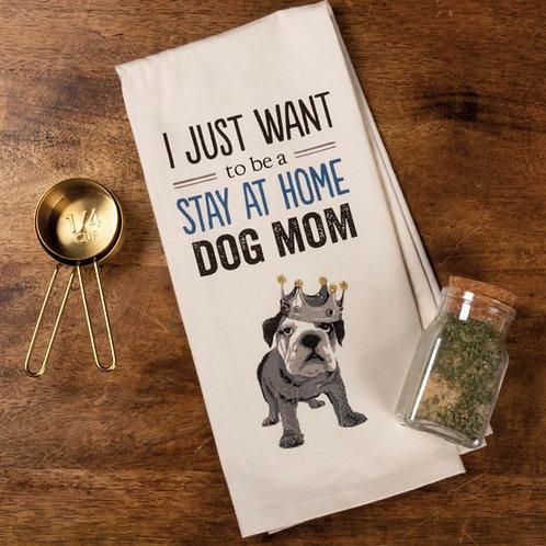 Dish Towel - Dog Mom