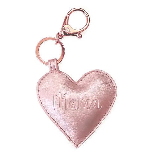Mama Heart Keychain/Bag Chain