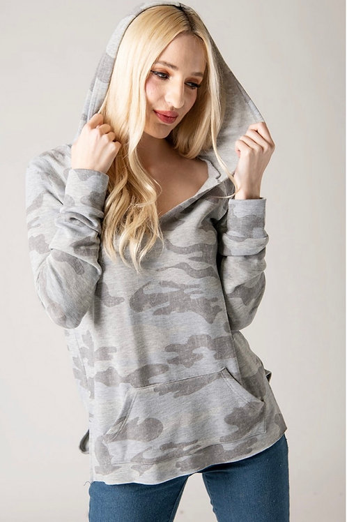 Ultra Soft Fleece Camo Hoodie