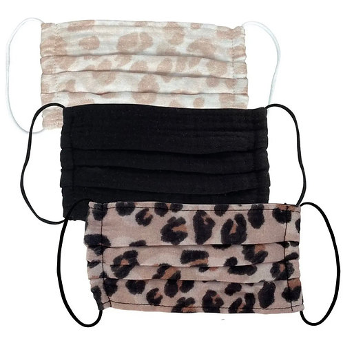 Kitsch Mask 3 Pack - Leopard