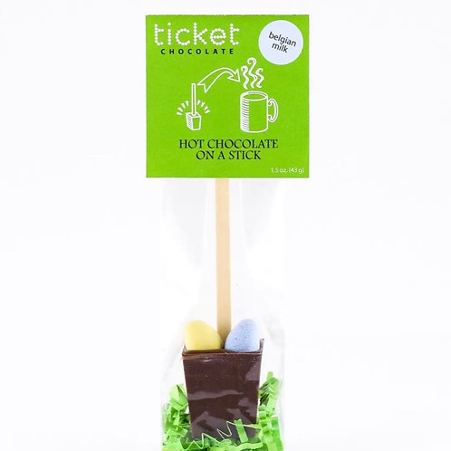 Easter Hot Cocoa Stick