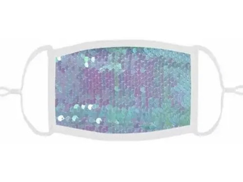 Kids Adjustable Face Mask - Sequin (color options available)