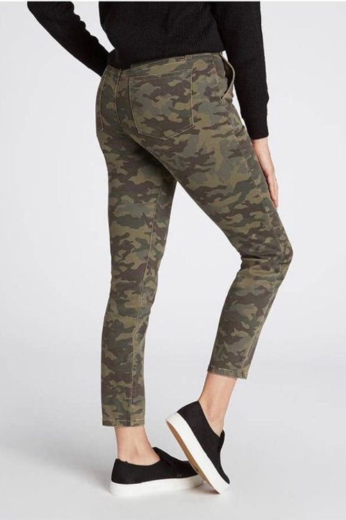 Military Slash Pocket Skinny Pants
