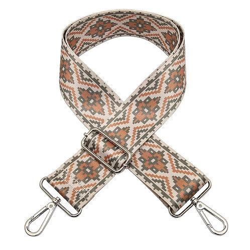 Adjustable Bag Strap- Tribal Taupe