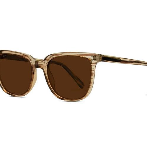 Abner Classic Retro Square Frame Sunglasses