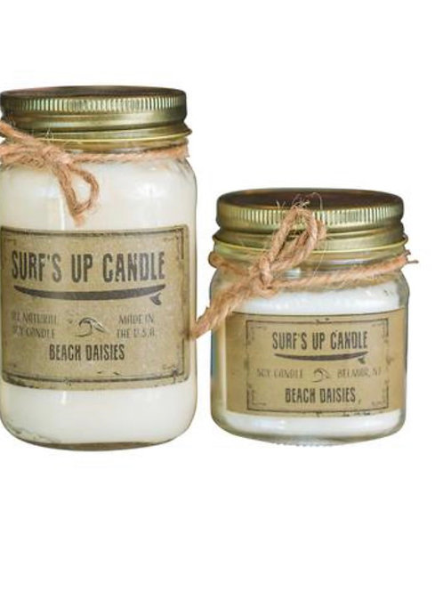 Surfs Up Candle - Beach Daisies (small)