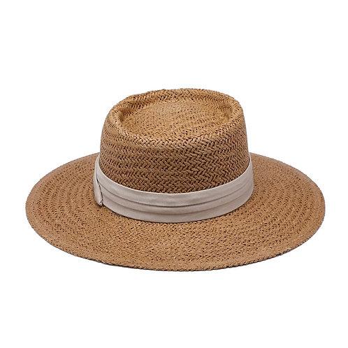 Birdie Natural Wide Brim Hat