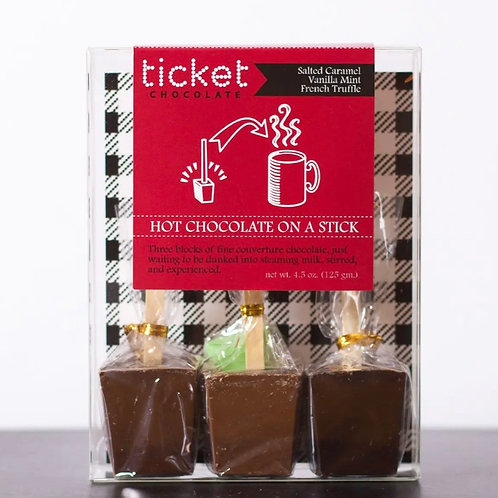Hot Chocolate on a Stick Variety 3-Pack