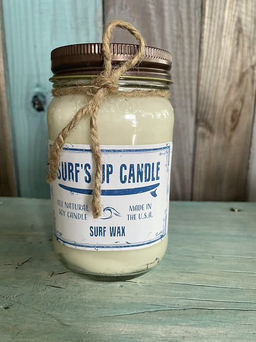 Surfs Up Candle - Surf Wax (large)