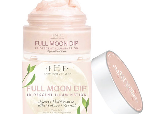 Full Moon Dip Illumination Facial Mousse