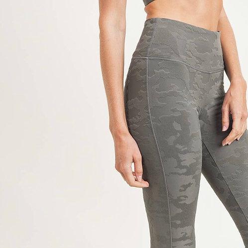Textured Camo Leggings