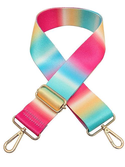 Adjustable Bag Strap- Ombré Rainbow