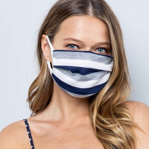 Cotton Pleared Face Mask