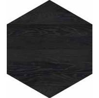 ESAGONO BLACK DIM. 600X520mm - Thickness 14mm