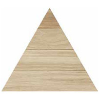 TRIANGOLO NATURALE 300X260mm - Thickness 14mm