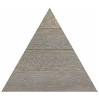 TRIANGOLO CENERE 300X260mm - Thickness 14mm