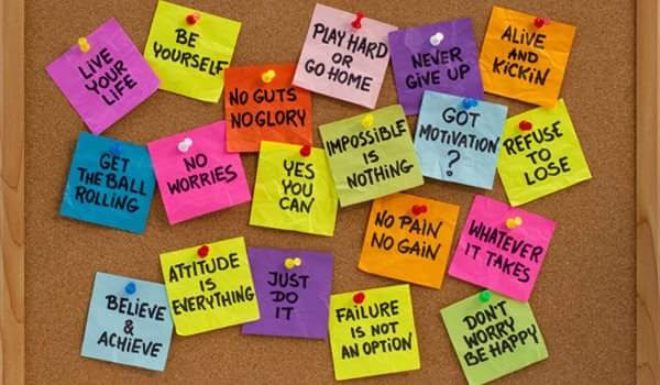 Motivational Affirmations For Athletes Post-it Reminders