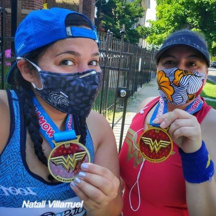 Natali Villarruel Training Buddy Successful Race Report with Medals