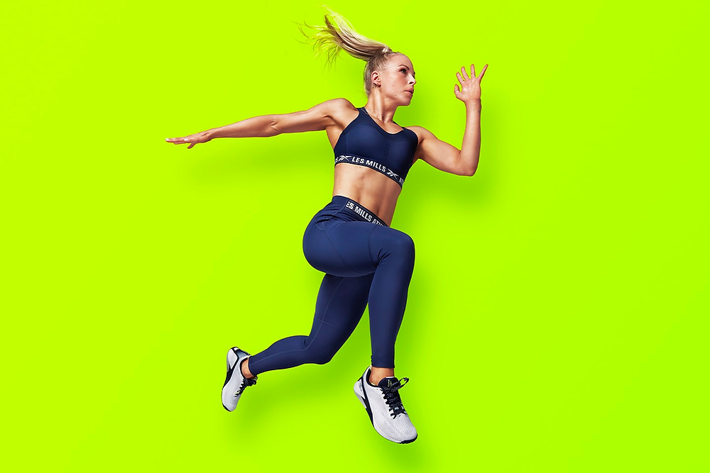 Les Mills Fitness Instructor Running Form Core
