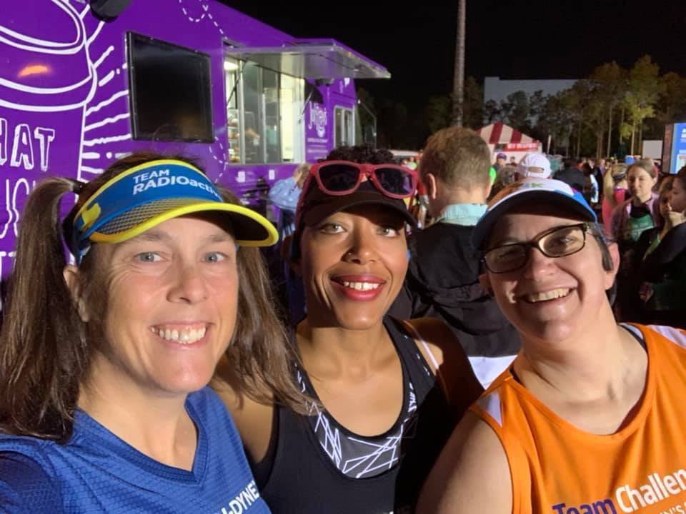 Coach CC Rowe Coach with Triathlete Clients Jess & Shuntae