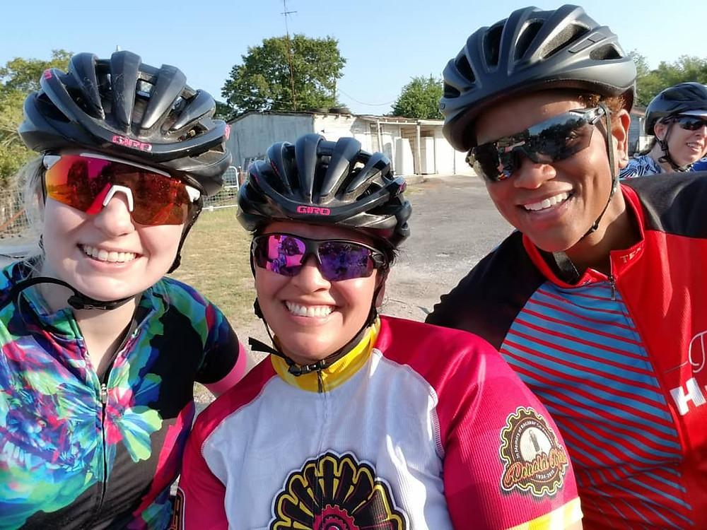 Triathlete & Duathlete Friends Training For MS150