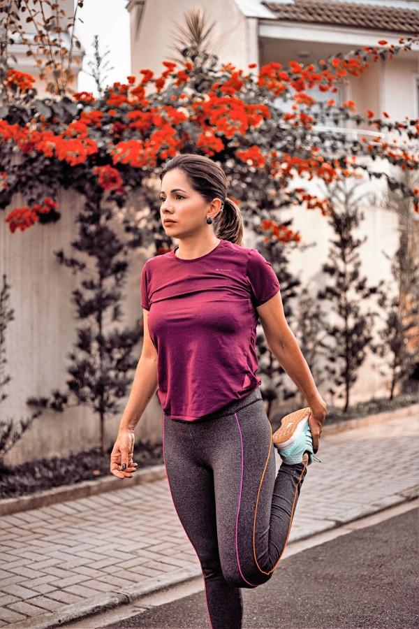 Marathon Female Runner Training  Run