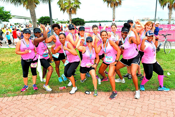 Strong Women Lift Each Other Up In Triathlon