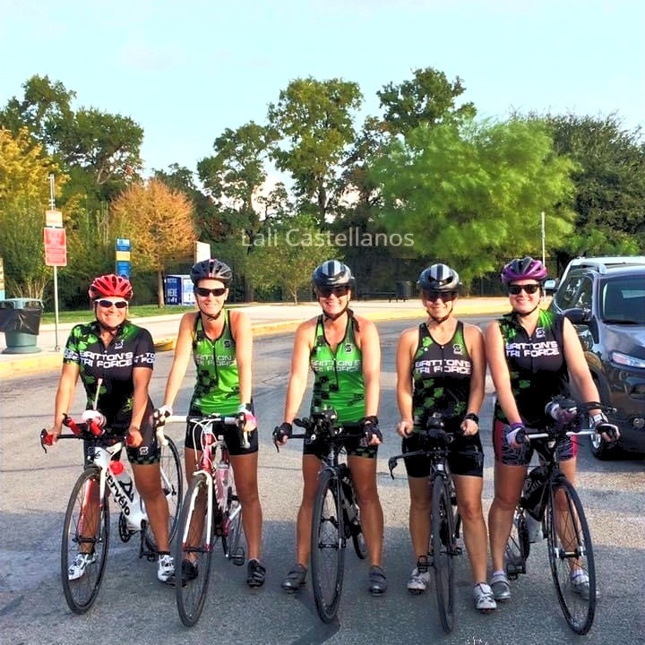 SwimBikeRunFun Women Cyclists Triathletes Duathletes Group Ride