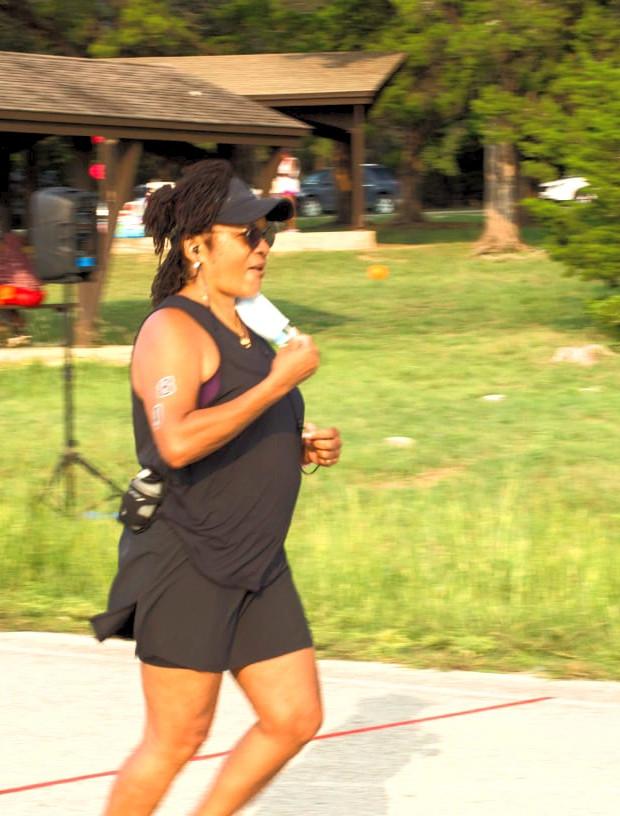 Age Group Female Runner Triathlete