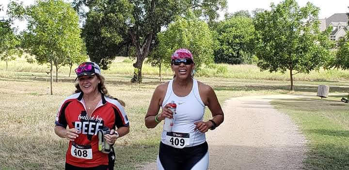 Female Trail Runners at Berry Spring Park Race