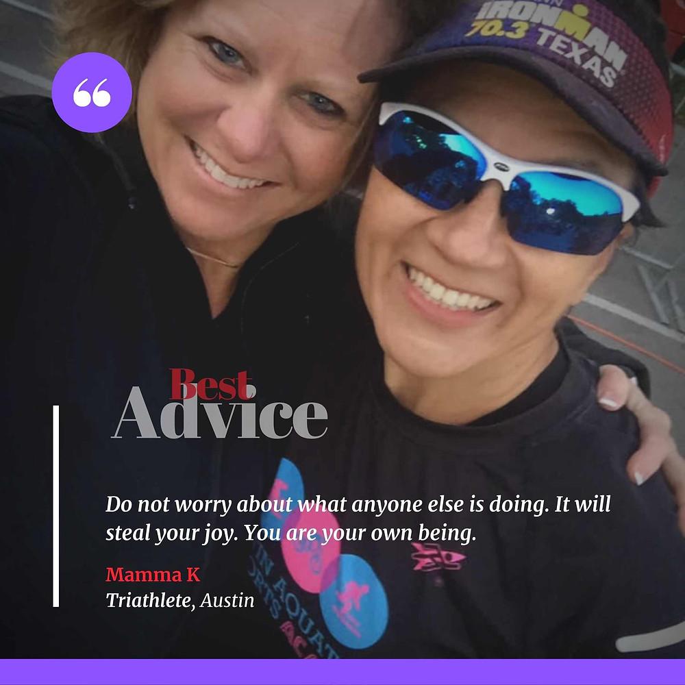 Austin Triathletes Leslie Lewis & Kathryn Markiewicz Cothern Give Beginner Triathlon Advice