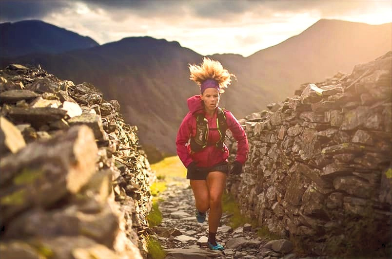 Black Female Trail Runner - Sheila Humphries - Image credit Hoka One One