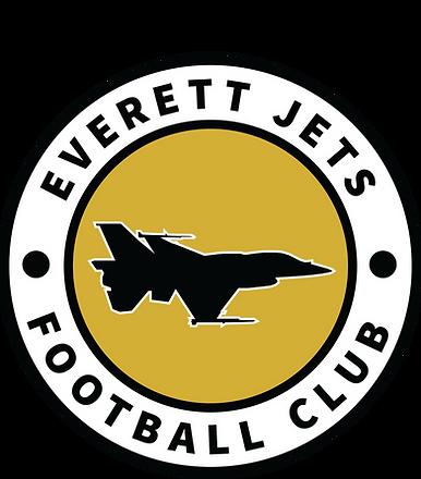 Everett Jets FC Logo Gold.png