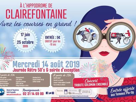Journée hippodrome Clairefontaine Deauville Normandie