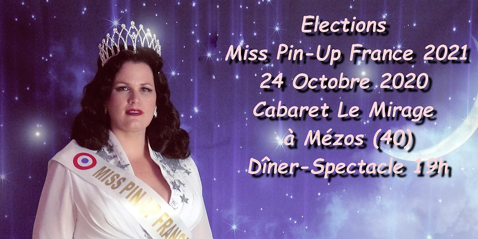 Election Miss Pin-Up France 2021