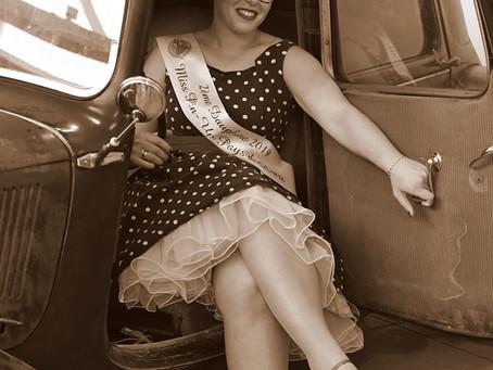 Ludivine 2ème Dauphine Miss Pin-Up Pays de la Loire