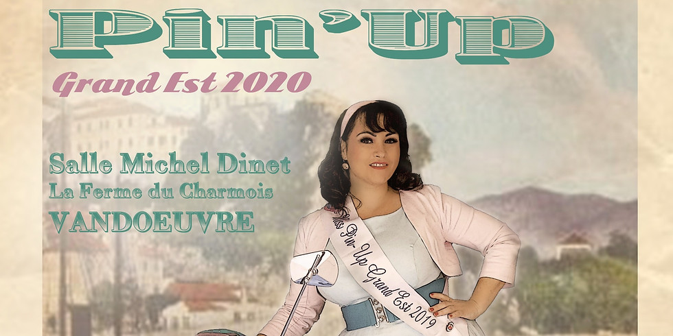 Election Miss Pin-Up Grand Est 2020