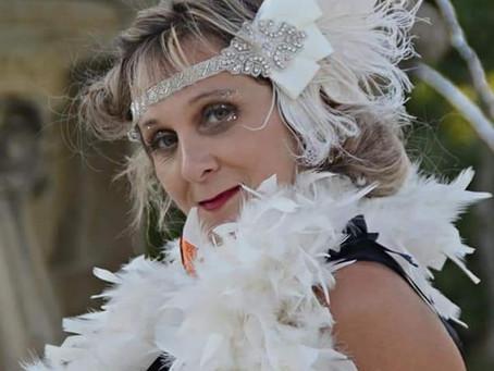 """Delphine alias """"Miss Tinguet folies"""" 2ème Dauphine Miss Pin-Up Provence Alpes Côte D'Azur"""