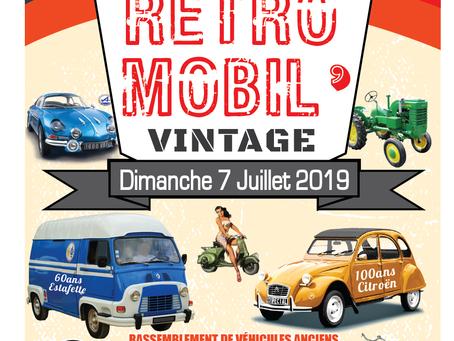 Rétromobil'Vintage de Tavernes