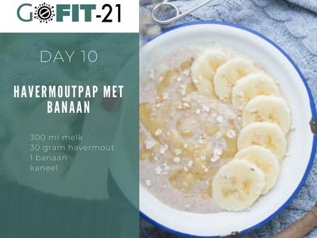 GOFIT-21   Havermoutpap met banaan