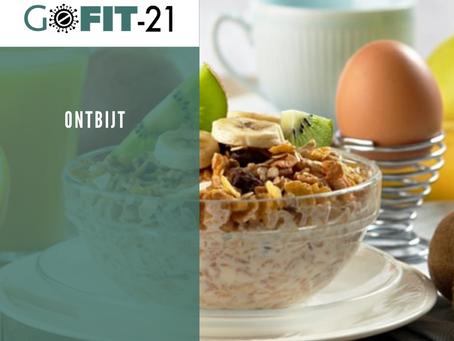 GOFIT-21   Ontbijt, de belangrijkste maaltijd van de dag