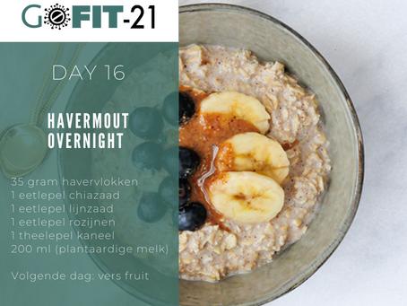 GOFIT-21   Havermout overnight