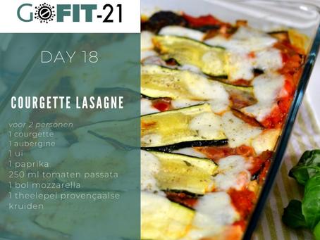 GOFIT-21   Courgette lasagne