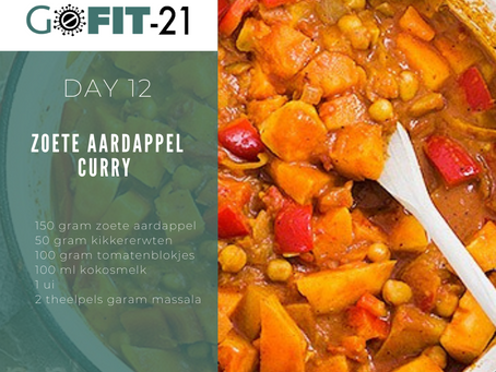 GOFIT-21   Zoete aardappelcurry