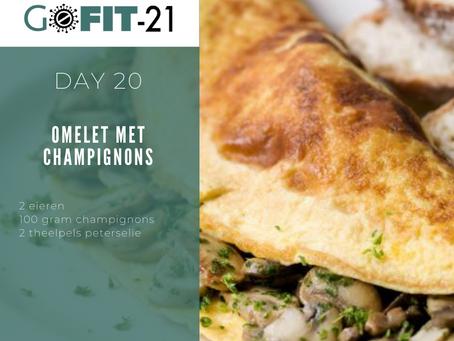 GOFIT-21   Omelet met champignons