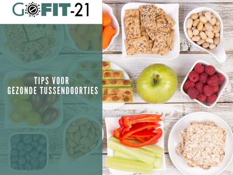 GOFIT-21   Tips voor gezonde tussendoortjes