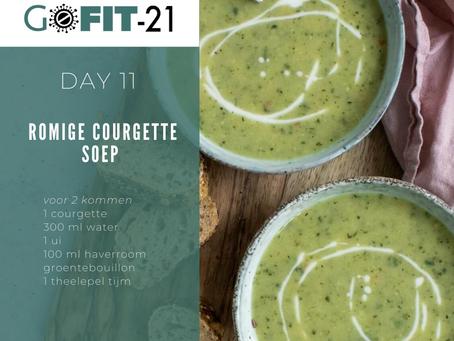 GOFIT-21   Romige Courgette soep
