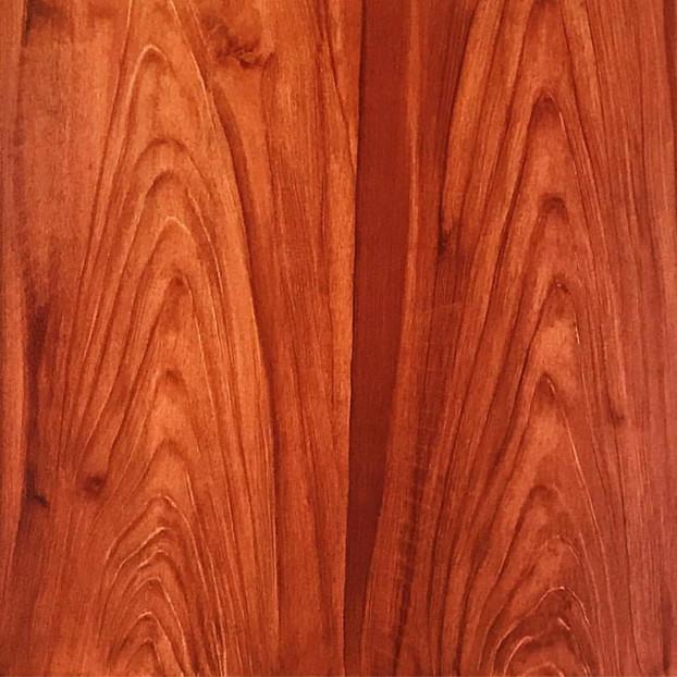 Faux bois : ACAJOU / en deux panneaux