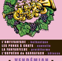 Flyer Vents dans les Vignes 2012 / Recto