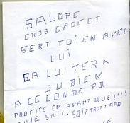 lettre anonyme